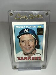 1996 Topps Finest Commemorative 150 Mickey Mantle - Mint