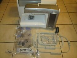 Baby Lock Ellegante 3 Blg3 Computerized Sewing And Embroidery Machine Great Cond