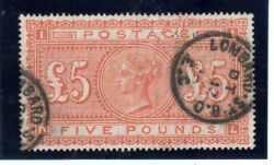 Great Britain 93 Extra Fine Used With Ideal Lombard St Cds Cancels