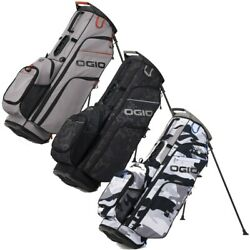 New Ogio Golf 2021 Woode 8 Hybrid Stand / Carry Bag 8-way Top - Pick The Color