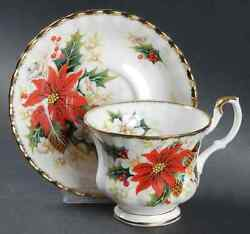 Royal Albert Yuletide Cup And Saucer 8534365