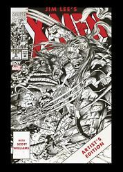 Jim Lee's X-men Artist's Edition Idw Signed And Numbered Variant New
