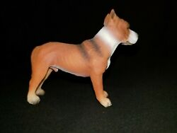 Ytc American Pitbull Terrier Dog - Collectible Figurine Great Condition