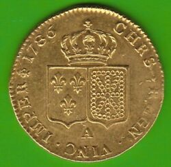 Gold France Double Louis Dand039or 1786 A Get Great In Vz-st Nswleipzig