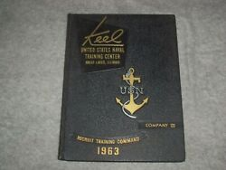 1963 The Keel Us Naval Training Center Co. 123 Yearbook-great Lakes, Il- Yb 2038
