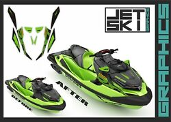 Seadoo Rxtx 300 For 2020 Decals Set Stickers Kit For California Green Color