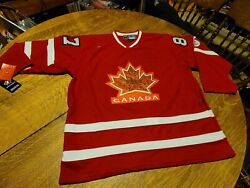 2010 New With Tags Sidney Crosby 87 Team Canada Jersey Size L Vancouver Nos Mint