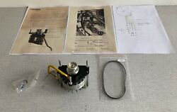 Rare Vintage Papst Replacement Motor For Thorens Td 124 Perfect Working