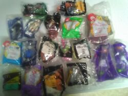 Vintage Lot Of 18 Mixed Mcdonald Happy Meal Toys Sealed From 1999- Early 2000s