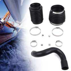 Exhaust Drive Bellows Kit With S.s. Clamps For Volvo Penta Sp Aq200 Aq250 Aq270