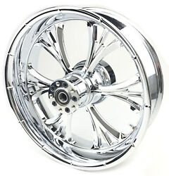 Rc Components Majestic 18x5.5 Chrome Rear Wheel W/abs 18550-9210-102c