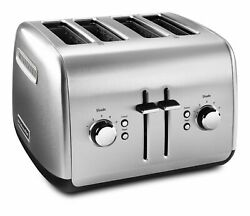 Kitchenaid Kmt4115sx Stainless Steel Toaster Brushed Stainless Steel