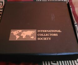 Vintage Betty Boop International Collectors Society Stamp Collection W/box