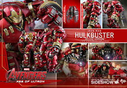 Dhl Hot Toys 1/6 Avengers Age Of Ultron Mms510 Hulkbuster Deluxe Ver 21 Figure