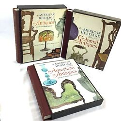 1968 American Heritage Books History Of Antiques Colonial And American In Slipcase