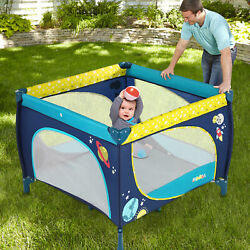 Baby Play Playard Play Pen With Mattress Safety Playpen For Toddler Boys Girls