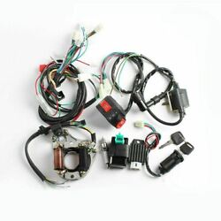 50cc 110cc Cdi Wire Harness Stator Assembly Wiring Kit Chinese Atv Electric Quad