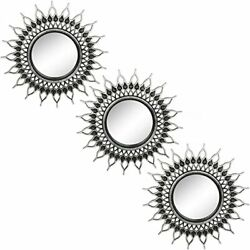Set 3 Small Round Mirrors for Wall Decor for Bedroom Living Room amp; Dinning Room
