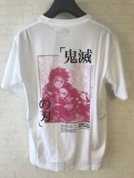 Uniqlo X Demon Slayer / Kimetsu No Yaiba Ut T-shirt Tanjiroandnezuko Size Xl New