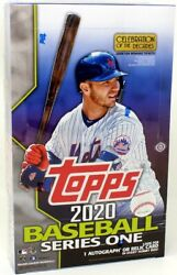 2020 Topps Series 1 Baseball Hobby 12 Box Case Blowout Cards