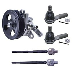 Hitachi Oem Power Steering Pump And Steering Tie Rods Kit For Nissan Altima 2.5 L4