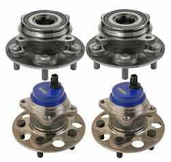 Moog Front And Rear Wheel Bearing And Hub Assemblies Kit For Lexus Toyota Camry