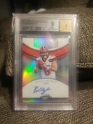 2018 Panini Contenders Optic Roy Contenders Autographs 1 Baker Mayfield Bgs 9