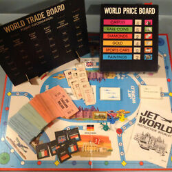 Board Game Parts Jet World Milton Bradley 1975 Replacement Pieces