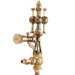 Mini Brass Steam Engine Flyball Governor Physics Steam Power Educational Toy Des