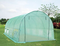 Home Greenhouse Large Gardening Plant Walk-in Hot Green House Tent - 20x10x7ft