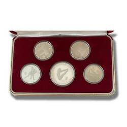 1988 Korea Coins Color Silver And Gold Of The Games Olympiad With Certification