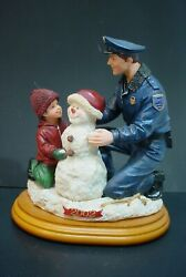 Blue Hats Of Bravery Frosty Dad And Me Figure