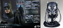 Hot Toys 1/6 Batman V Superman Dawn Of Justice Mms342 With Tech Cowl Limited Ver