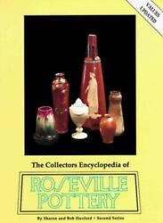 The Collectors Encylopedia Of Roseville Pottery By Huxford Hardcover Price Guide