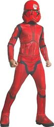 Rubieand039s Kidand039s Star Wars Sith Trooper Costume Red Check For Size