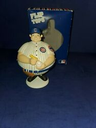 Dept 56 Chicago Cubs Flip Top Candy Dish 2003 Official Mlb Product