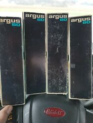 Vintage Argus No 587 / 60 Capacity Slide Magazines Spill Proof Space Saver Trays
