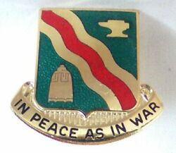 Us Army 728th Military Police M.p. Battalion Dui Di Crest Pin Meyer 9/m