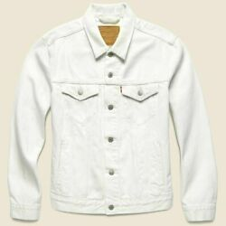 Premium Denim Trucker Jacket Vintage Fit White Out New With Tags