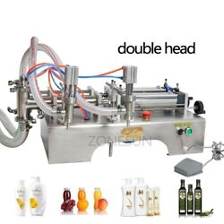 Pneumatic Auto Filling Machine Cooking Oil Essential Oil Water Perfume Filler