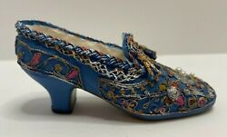 Collectible Miniature Popular Imports Stalgia If The Shoe Fits - Blue