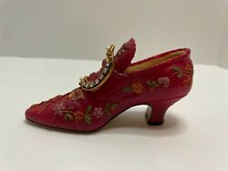 Collectible Miniature Popular Imports Stalgia If The Shoe Fits - Pink