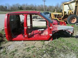 2006 Ford F350 Crew Cab Nice W/back Glass Headliner Red 05-07