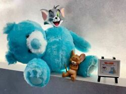 Tom And Jerry Teddy Bear Ver. Tom Figure Plush Turquoise Genuine New
