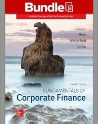 Fundamentals Of Corporate Finance Paperback By Ross Stephen A. Westerfield...