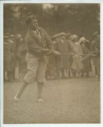 1930's Photo Bobby Jones Watches A Shot, Augusta National Golf Club Course