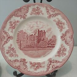 5 Johnson Brothers Old Britain Castles Dinner Plates