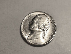 1939-s Ch/gem Bu Uncirculated Jefferson Nickel Reverse Of 38 Key Date Coin51
