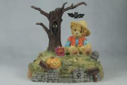 Cherished Teddies 'halloween's A Boo-tiful Thing' Spooky Sounds 119912 In Box