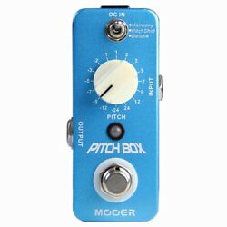 Mooer Pitch Box Electric Guitar Effect Pedal Precise Polyphonic Pitch Shifting